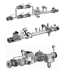 Газовые линии DUNGS (типовые решения)
