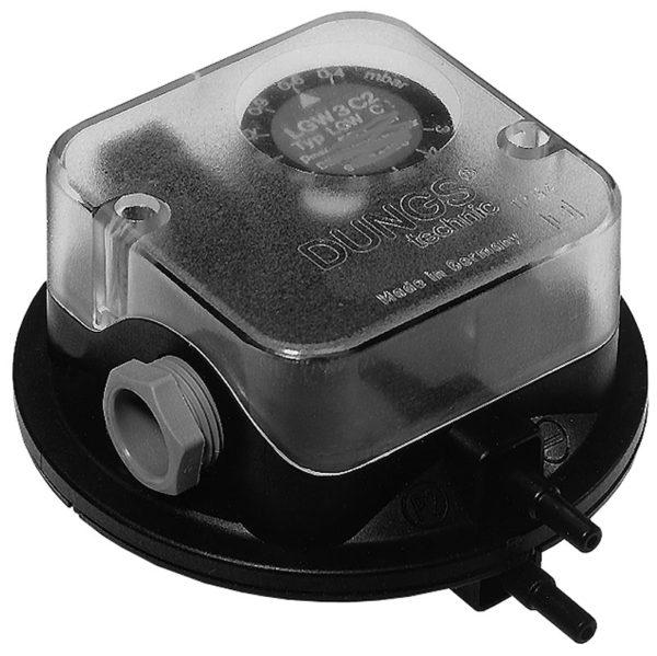 Дифференциальный датчик-реле давления LGW 10 A2P 120212